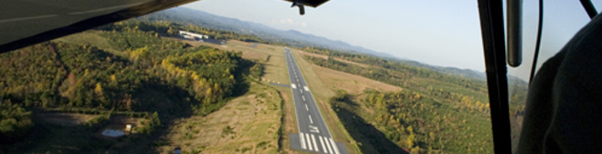 From Plane Runway